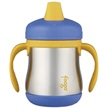 Foogo by Thermos Leak-Proof SS 7 oz Sippy Cup with Handle in Blue