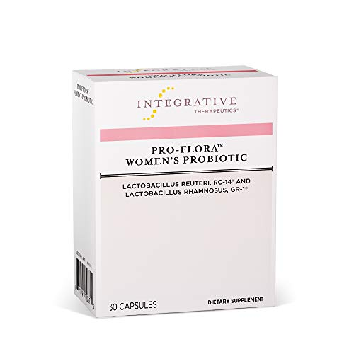 (Integrative Therapeutics - Pro-Flora Women's Probiotic - Probiotics for Women with Clinically Researched Strains of Lactobacillus That Support Vaginal Microflora - 30 Soy Free, Shelf Stable Capsules )