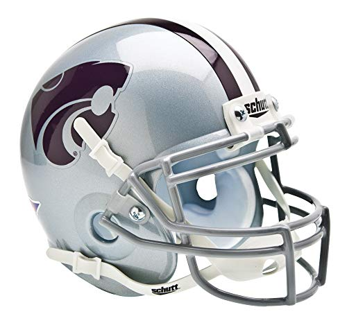 (Schutt NCAA Mini Authentic XP Football Helmet, Kansas State Wildcats)