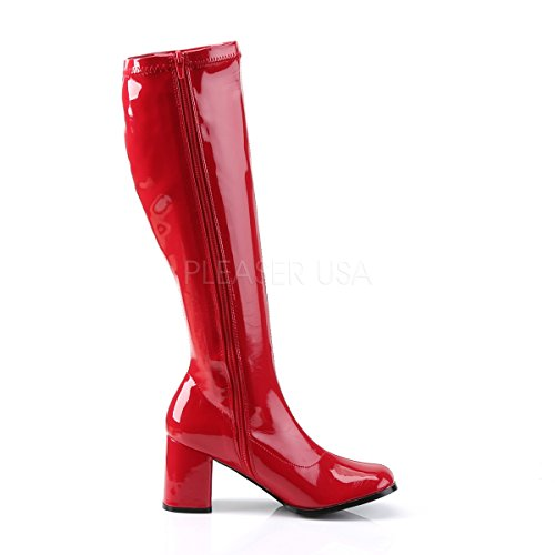 Funtasma S Ankle Gogo300 Boots Women's Pu Rosso Patent red qOwqgrTnx