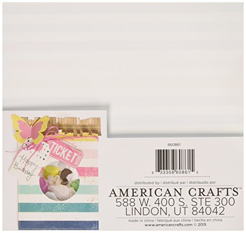 """6 x 6/"""" We R Memory Keepers 12 Sheet Fuseables Patterned Paper Pack"""