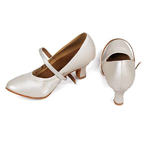 Danza modelo Salsa Salón Performance Ykxlm Calzado De amp;niña Zapatos Mujeres Blanco Latinos Zapatillas Es5003 Tango Baile pcqqBHawO7