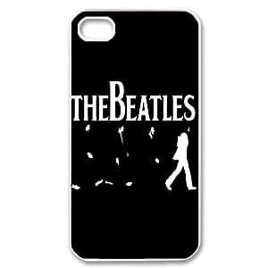 LSQDIY(R) The Beatles iPhone 4,4G,4S Hard Back Case, Personalized iPhone 4,4G,4S Case The Beatles