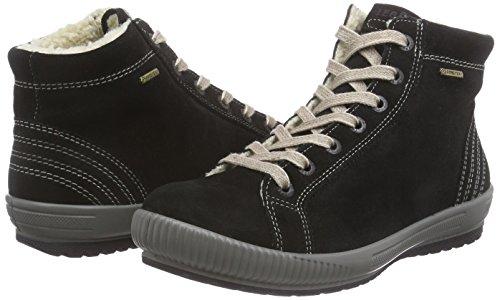 Mujer Zapatillas 00 Negro Schwarz schwarz Legerotanaro OqS5dnPq
