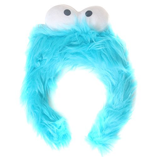 [Kids Blue Monster Furry Costume Headband] (Alien Dress Up Ideas For Kids)