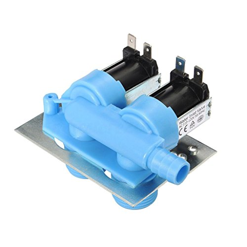 Clothes Washer Water Inlet Valve for 285805 Whirlpool, Kenmore, Maytag, GE, Frigidaire, (Maytag Washer Water Valve)