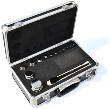 Huanyu F1 Grade 304 Edelstahl Digitalwaage Kalibriergewichte Kit Set, 13 Stücke 1g-1kg