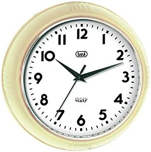 Trevi Original Sixty Retro Cream Wall Clock
