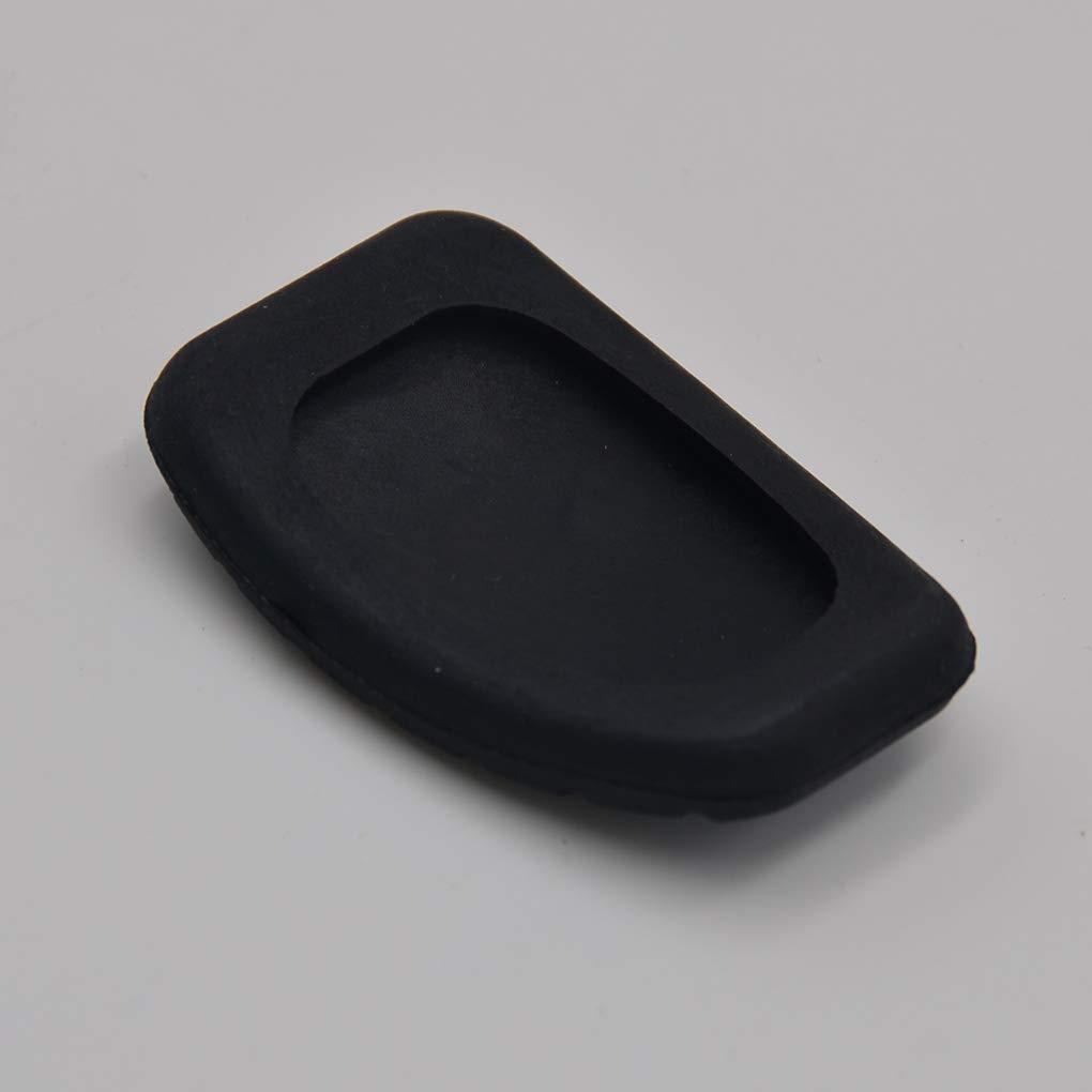 Bomcomi Replacement for Renault Megane//Laguna//Clio//Kangoo Auto Brake Pedal Cover Car Clutch Pedal Rubber Pad