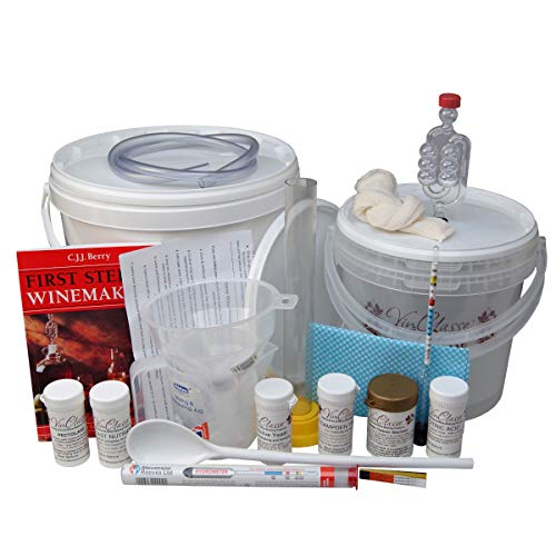VinClasse Home Wine Making Starter Set - For 5 Litres / 1 Gallon Of Wine