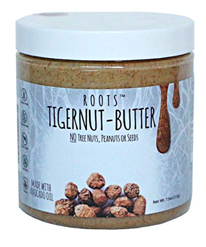 Tigernut Butter Allergen Friendly and all Natural | No Nuts, Seeds, Gluten Or Soy | A.I.P. and Paleo Compliant (7.5 Ounce). Original Flavor