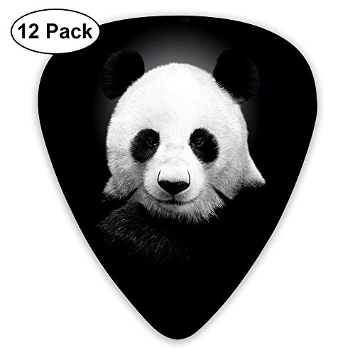 - Guitar Picks Cute Panda Bearcat Choiceness Celluloid Plectrum Thin Medium Heavy Bass Custom Variety Pick Mini Music Gifts Grip -12pcs