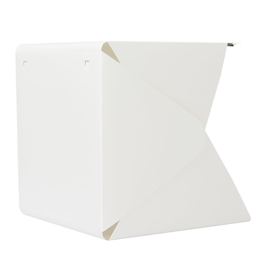 Portable Foldable Photo Studio with Light Mini White Photo Studio Box by Hierkryst by hierkryst (Image #3)