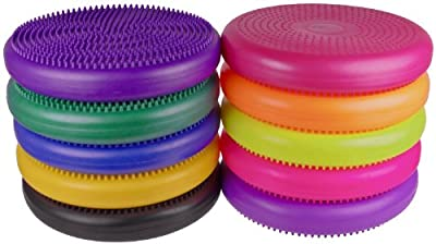 """Isokinetics Inc. Brand Exercise Disc / Balance Cushion - 14"""" Diameter - 10 Colors to Choose From by Isokinetics Inc."""