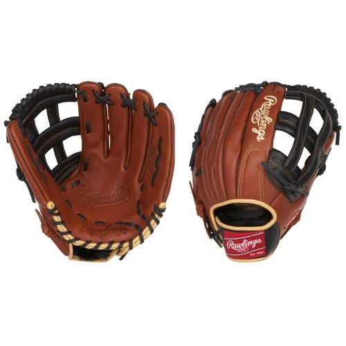 Rawlings Sandlot Series Leather Pro H Web Baseball Glove, 12-3/4'', Right Hand by Rawlings