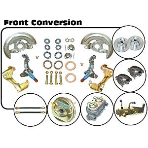 Buy The Right Stuff Detailing AFXDC01C 64-72 'A' Body Power Disc Conversion (Master Cylinder Lines, ...