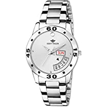 Eddy Hager White Day and Date Women's Watch EH-459-WH