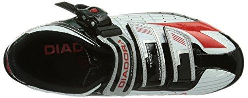 Nero Schwarz Adulto Schwarz da Weiß Unisex Ciclismo Scarpe Tornado Diadora 1470 Rot xXCc7wqzY0
