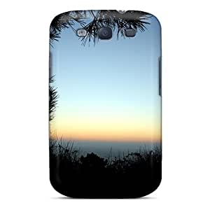 HqeEI2621GRogo NikRun Awesome Case Cover Compatible With Galaxy S3 - Waiting Sunrise