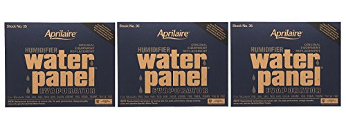 Aprilaire 35 Water Panel 3 Pack for Humidifier Models 350, 360, 560, 568, 600, 700, 760, 768 - Panel Replacement Filter