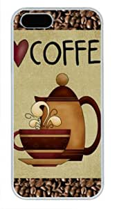 Love Coffee Poster White Sides Hard Shell Case for Iphone4s and Iphone4s by Sakuraelieechyan
