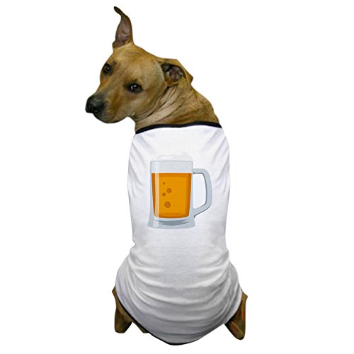 CafePress - Beer Mug Emoji - Dog T-Shirt, Pet Clothing, Funny Dog Costume -