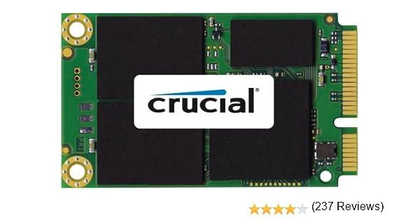 Crucial CT120M500SSD3 - Disco Duro Interno mSATA de 120 GB: Amazon ...