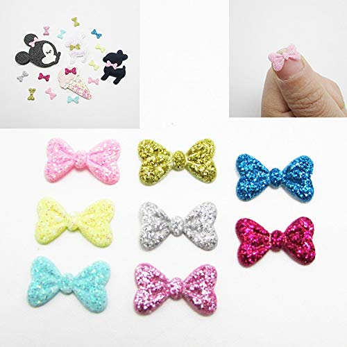 1.5cm Mini Small Ribbon Pet Bowknot ONLY Bow NO Clips DIY Bow Tie Wedding Decor Hair Accessories 500pcs