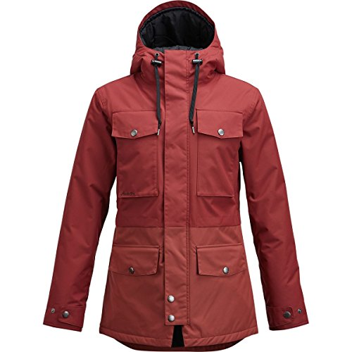 Airblaster Freedom Parka - Women's Oxblood, L by AIRBLASTER