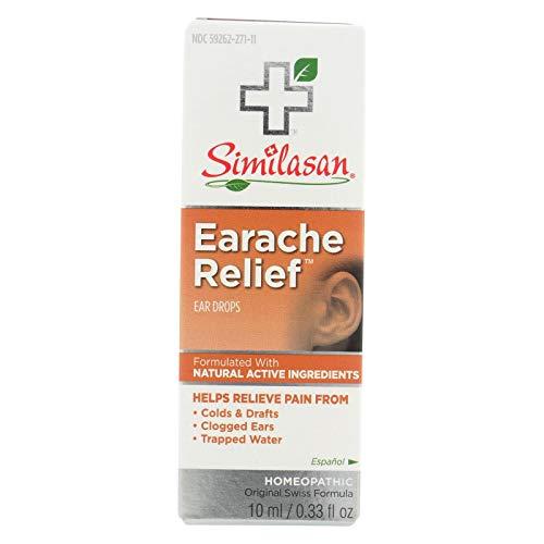 Similasan Earache Relief Ear Drops 10 mL (Best Medicine For Clogged Ears)