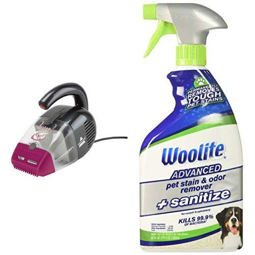 BISSELL Corded Hand Vacuum + Pet Stain Remover
