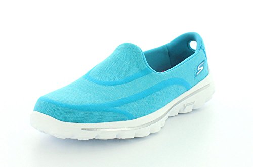Skechers 13955 - Super Sock - Zapatillas de deporte, Mujer, azul, Aqua