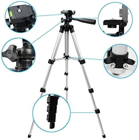 50 Inch Digital DSLR Camera Tripod Stand for Canon EOS 1000D 1100D Rebel XS T3