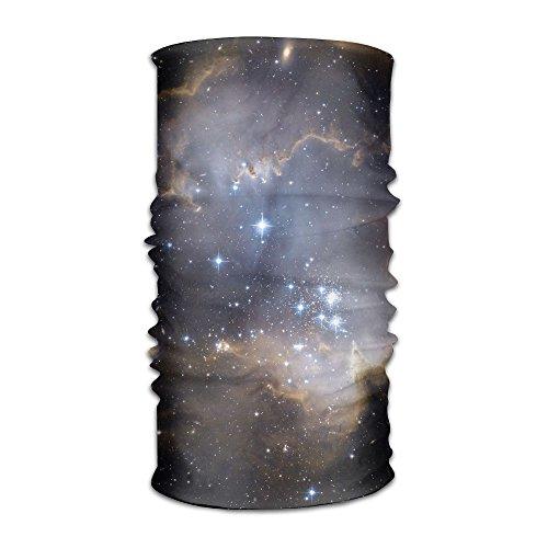 Shadidi Unisex Sky Space Galaxy Night Multifunction Changed Headwear Headscarf Bandanas