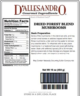 Review Forest Blend Mushrooms, 1