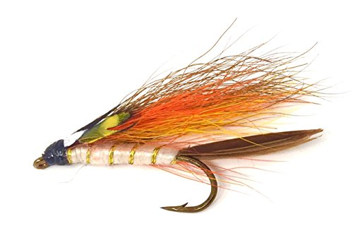 Feeder Creek Fly Fishing Trout Flies - Little Brown Trout Streamer Assortment - One Dozen Wet Flies - 3 Size Assortment 8,10,12 (4 of Each Size) (Brown) (Best Wet Flies For Brown Trout)