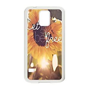Be Free Customized Cover Case for SamSung Galaxy S5 I9600,custom phone case ygtg579824