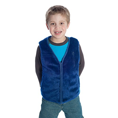 Fun and Function's Faux Fur Weighted Vest