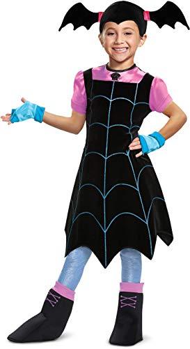 Disguise Vampirina Deluxe Child Costume, Black, Medium/(7-8)
