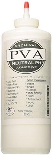 Tran PVA Adhesive Glue, 32-Ounce