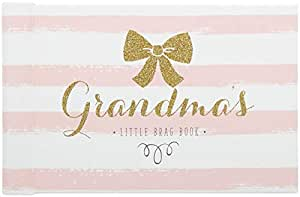 C.R. Gibson, Grandma's Brag Book, Small Photo Album Baby Book for Girls, 20 Pages, 4.5'' x 7.25''