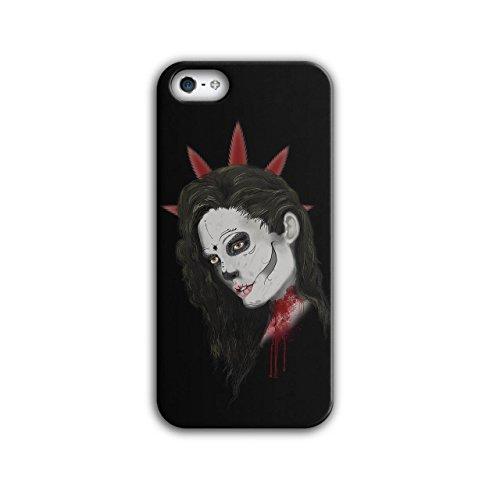 Beautiful Make Up Girl Vampire NEW Black 3D iPhone 5 / 5S Case | Wellcoda (Vampire Makeup Looks)
