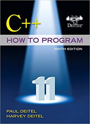 cpp how to program 9th edition