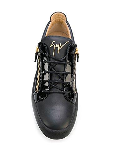 Giuseppe Zanotti Design Homme RU70000002 Noir Cuir Baskets