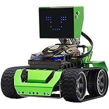 Robobloq 6-in-1 Robot Kit, Robotics for Kids Age 8+, STEM Education, Arduino Coding - Qoopers (174 pcs)