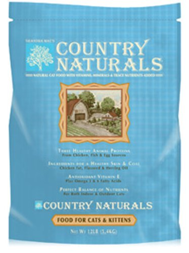 12 Lb. Grandma Maes Country Naturals Cat & Kitten Food Part    00108