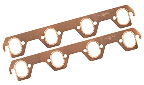 Mr. Gasket 7161 Copper Seal Oval Port Exhaust Gasket ()