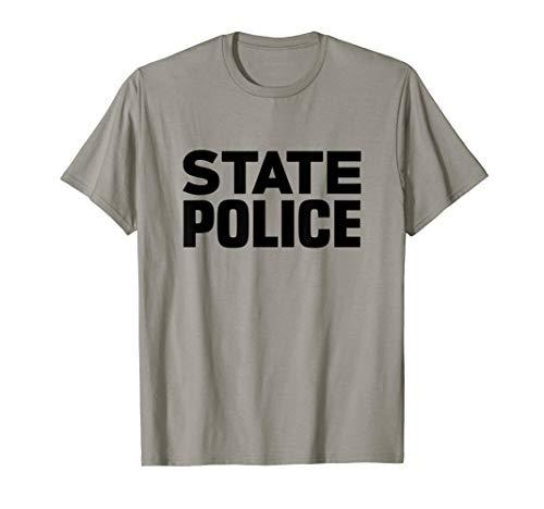 State Police T-Shirt Trooper LEO Cops Law Enforcement ()
