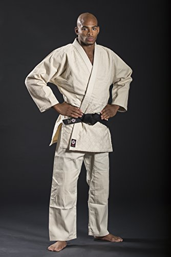 Ronin Brand Single Weave Unbleached Judo Uniform (5)