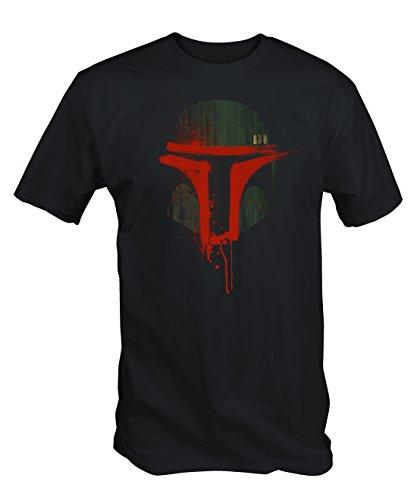 6TN Mens Urban Bounty Hunter T Shirt (Large, Black)